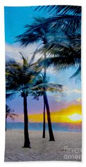 Day At The Beach Beach Towel