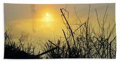 Beach Towel featuring the photograph Daybreak by Robyn King