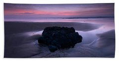 Day Fades To Night Beach Towel