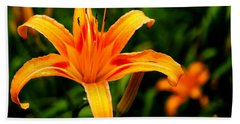 Day Lily Beach Towel