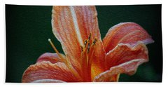 Day Lily Rapture Beach Towel