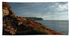 Daybreak At Campsite 19 Beach Towel by James Peterson