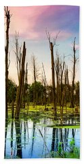 Daylight In The Swamp Beach Towel
