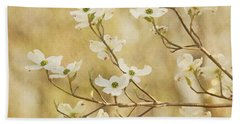 Days Of Dogwoods Beach Towel