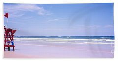 Daytona Beach Fl Life Guard  Beach Towel