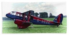 De Havilland Dragon Rapide Beach Sheet