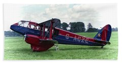 De Havilland Dragon Rapide Beach Sheet