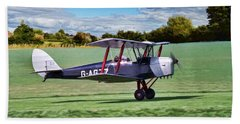 De Havilland Tiger Moth Beach Sheet