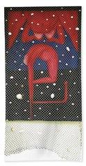 Beach Towel featuring the painting De Ja Vu_sold by Fei A