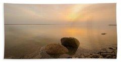 Dead Sea Sunrise Beach Towel