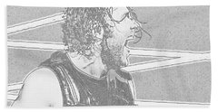 Dean Ambrose Beach Sheet by Paul  Wilford
