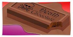 Death By Chocolate Beach Towel