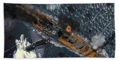 Death Of The Yamato Beach Towel