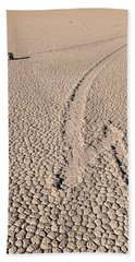 Death Valley Racetrack California Beach Towel