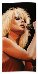 Deborah Harry Or Blondie 2 Beach Sheet