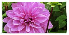 Decadent Dahlia   Beach Towel