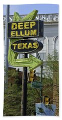 Deep Ellum Texas Beach Sheet
