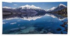 Deep Freeze Beach Sheet by Aaron Aldrich