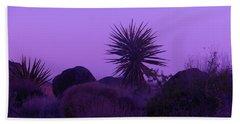 Deep Purple Beach Towel