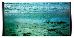 Del Mar Glow Beach Towel