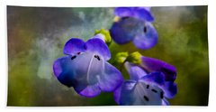Delicate Garden Beauty Beach Towel by Mick Anderson
