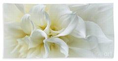 Delicate White Softness Beach Sheet