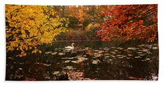 Delightful Autumn Beach Towel
