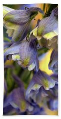 Delphinium Blue Beach Towel