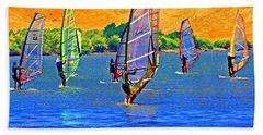 Delta Water Wings Beach Towel