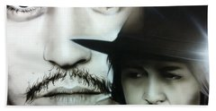 Johnny Depp - ' Depp ' Beach Towel