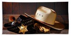 Deputy Sheriff Gear  Beach Towel