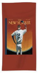 Derek Jeter Bows Out Beach Towel