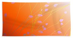 Beach Towel featuring the photograph Desert Flowers by Holly Kempe