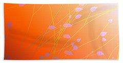 Desert Flowers Beach Sheet by Holly Kempe