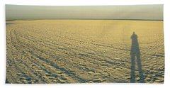 Beach Towel featuring the photograph Desert Like by David Nicholls