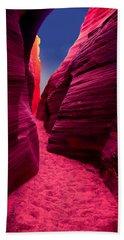 Desert Maze Beach Towel
