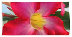 Desert Rose		 Beach Towel by Kristine Merc