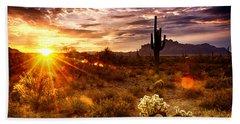 Desert Sunshine  Beach Towel