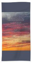 Desiderata Sky 2 Beach Sheet