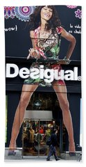 Desigual Storefront Beach Towel