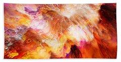 Desire - Abstract Art Beach Sheet