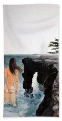 Destinos Beach Towel by Lazaro Hurtado