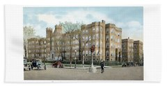 Detroit - Providence Hospital - West Grand Boulevard - 1926 Beach Towel