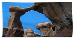Devil's Garden Metate Arch 004 Beach Towel