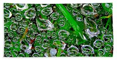 Dew Beads Beach Sheet