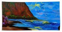 Diamond Head Blue Beach Sheet