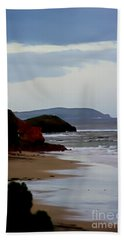 Digital Painting Of Smiths Beach Beach Towel