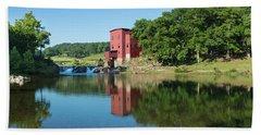 Dillard Mill At Dillard Mill State Beach Towel