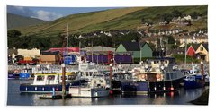 Dingle Harbour County Kerry Ireland Beach Towel