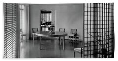 Dining Room In Mr. And Mrs. Alfred J. Bromfield Beach Towel